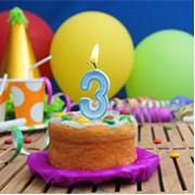 3 Yaş Erkek Doğum Günü Konseptleri ve Süsleri