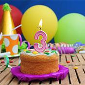 3 Yaş Kız Doğum Günü Konseptleri ve Süsleri