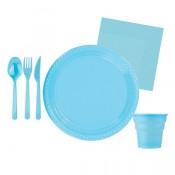 Mavi Doğum Günü Konsepti Parti Malzemeleri ve Süsleri
