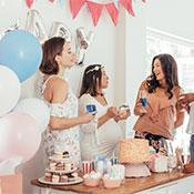 Baby Shower Parti Süsleri ve Malzemeleri