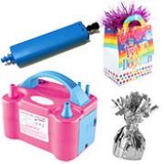 Balon Şişirme Makinasi, Balon Pompası, İp ve Aksesuarları