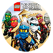 Ninjago Doğum Günü Parti Malzemeleri, Ninjago Pinyata ve Süsleri