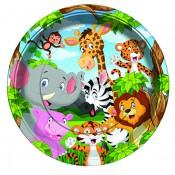 Safari Temalı Doğum Günü Konsepti Parti Malzemeleri ve Süsleri