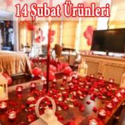 14 Şubat Sevgililer Günü Paketleri ve Sevgiliye Sürpriz Süsleri