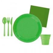 Mint Yeşili ve Fıstık Yeşili Doğum Günü Konsepti