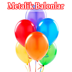 Metalik Parlak Balonlar