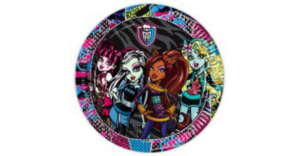 Monster High Doğum Günü Konsepti Parti Malzemeleri
