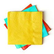 Renkli Kağıt Peçete