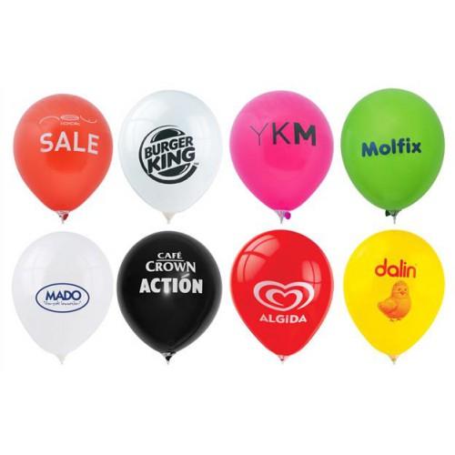 1000 Adet Baskılı Balon: Logo: Tek Renk + Baskı :Çift Taraf  + Balon istenilen Renk (1+1)