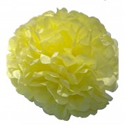 Civciv Sarı Ponpon Gramafon Çiçek Kağıt Doğum Günü Parti Süsü