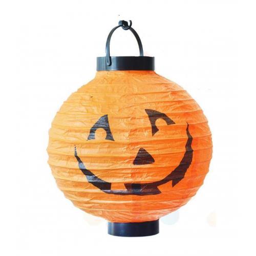 1 Ad Halloween Bal Kabağı Işıklı Fener, Cadılar Bayramı Dekorları