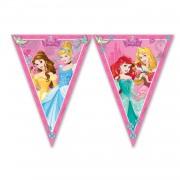 1 Ad İyi Ki Doğdun Disney Prensesler Temalı 1.9m Parti Flaması