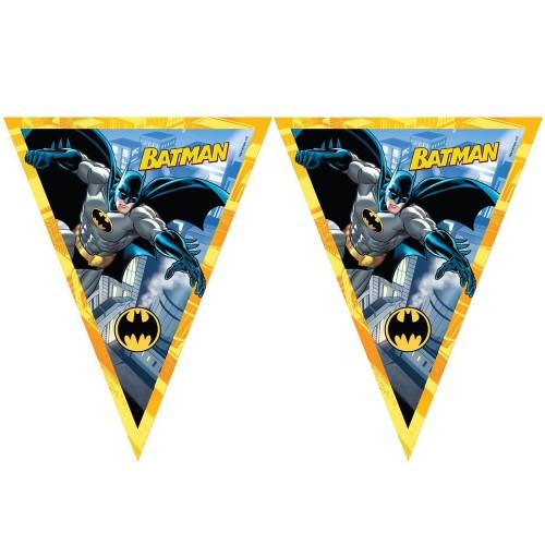 1 Ad İyi Ki Doğdun Yazılı Batman Konsept Temalı 1.9m Parti Flama