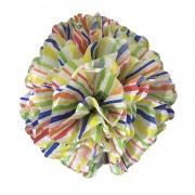 1 Ad Rengarenk Ponpon Gramafon Çiçek Kağıt Doğum Günü Parti Süsü