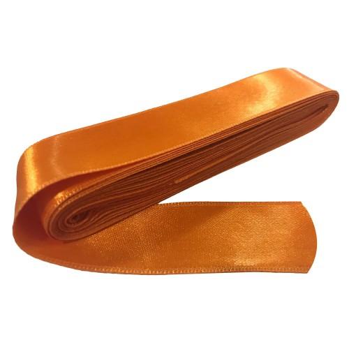 1 Adet 10m Turuncu Renginde Kurdele, 3cm Kalınlığında Kurdela