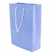 1 Adet 25li Mavi Karton Baby Shower Hediyelik Parti Çantası