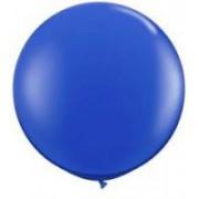 1 Adet 27 inc 68 cm Koyu Mavi Lacivert Jumbo Büyük Balon İnik