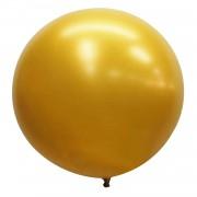 1 Adet 27 inç 68cm Gold Altın Sarısı Jumbo Büyük Balon İnik