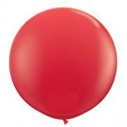 1 Adet 27inç 68 cm Kırmızı Jumbo Büyük Balon İnik