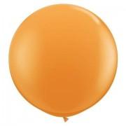 1 Adet 27inç 68 cm Turuncu Jumbo Büyük Balon İnik