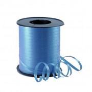 Metalik Mavi Balon İpi, 300mx5mm Parlak Rafya, Süsleme Rabant