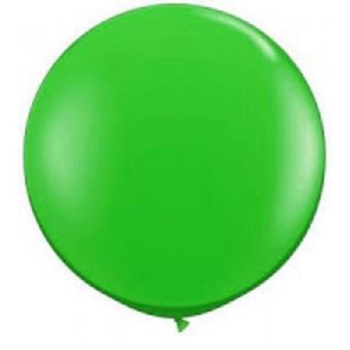 1 Adet 45inç 114 cm Yeşil Jumbo Büyük Balon İnik
