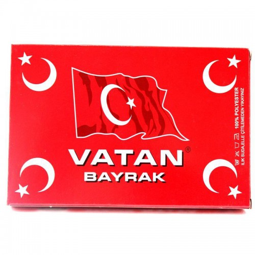 1 Adet 80cmX120cm Boyutunda Türk Bayrağı