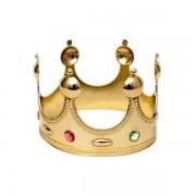 1 Adet Altın Gold Çocuk Kral Tacı Erkek Parti Malzemesi