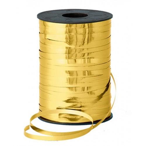 Altın Sarısı (Gold) Balon İpi Parlak Rafya 8mmx200m Süsleme Rabant