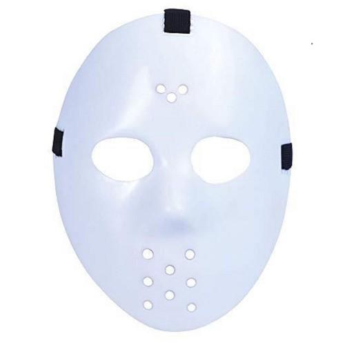 1 Adet Beyaz Jason Maske, Cadılar Bayramı Kostüm Partisi Maskesi