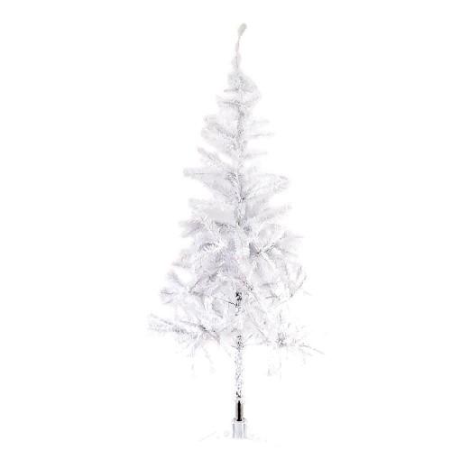 1 Adet Beyaz Yılbaşı Çam Ağacı 180cm Demir Ayaklı Noel Ağacı