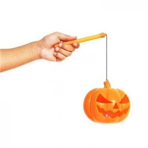 1 Adet Cadılar Bayramı Işıklı Balkabağı, Halloween Dekor Eşyaları