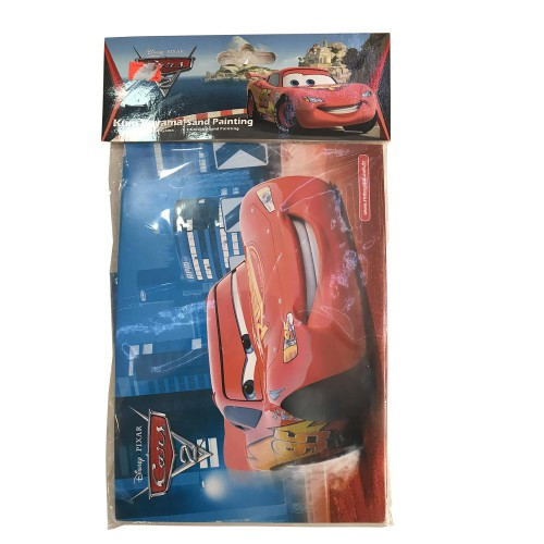 1 Adet Cars (Arabalar) Kum Boyama