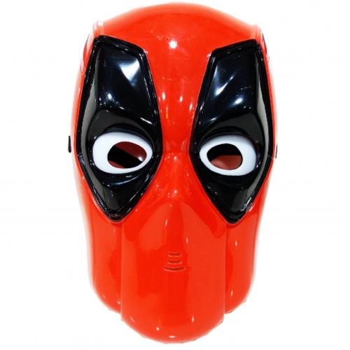 1 Adet Deadpool Işıklı Maske, Kostüm Partisi Çocuk Maskesi