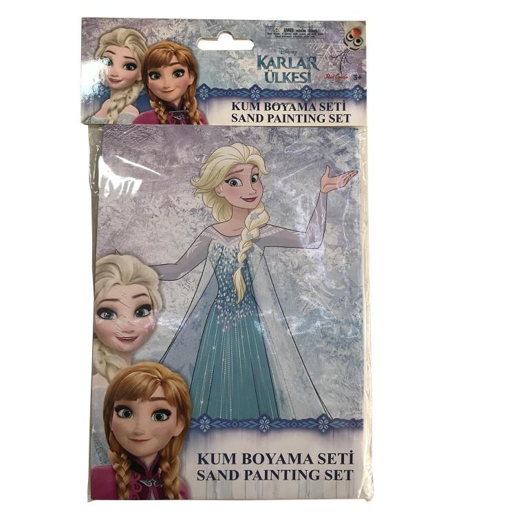 1 Adet Elsa Kum Boyama Seti