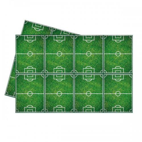 1 Adet Futbol Masa Örtüsü yeşil 120x180 Doğum Günü Parti Malzemesi