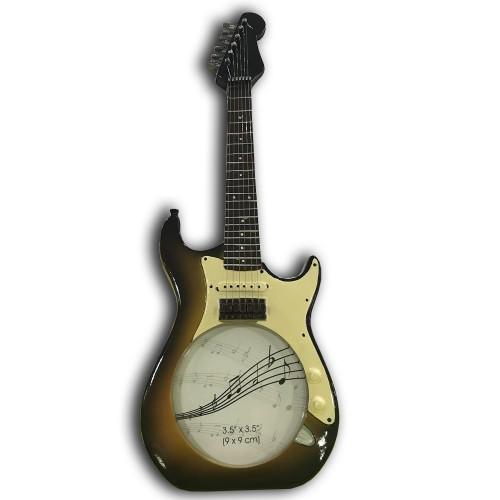 1 Adet Gitar Şeklinde Ahşap Hatıra Hediyelik Fotoğraf Çerçevesi