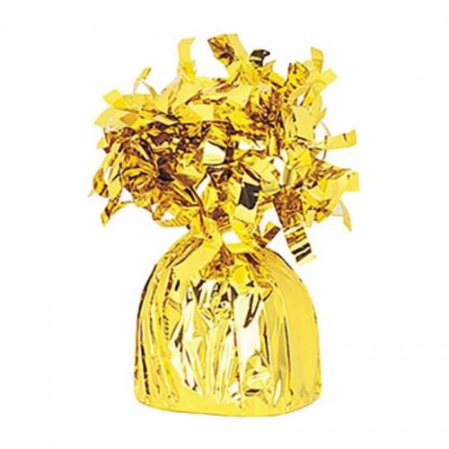 1 Adet Gold (Altın sarısı) Uçan Balon Ağırlığı Doğum Günü.