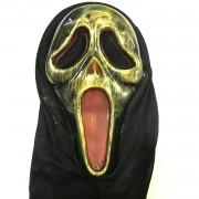 1 Adet Gold Çığlık Maskesi, Korku Şakası Aksesuarı