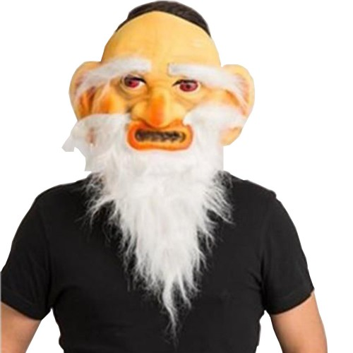 1 Adet Gulyabani Maskesi, Cadılar Bayramı Konsepti Korkunç Maske