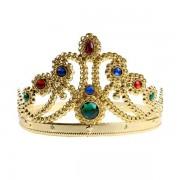 1 Ad Gold (Altın Sarısı) Kraliçe Tacı Doğum Günü Parti Malzemesi