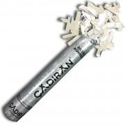 1 Adet Gümüş Konfeti 30 cm Parti Malzemeleri