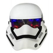 Işıklı Beyaz Star Wars Stormtrooper Maske Erkek Parti Malzemesi