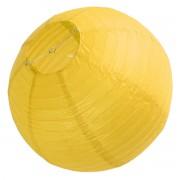 Japon Feneri Sarı Bahçe Işığı, Top Lamba Parti Malzemesi 40x40