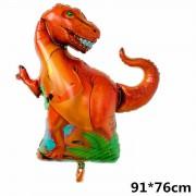 1 Adet Jurassic Park Temalı Dinazor Folyo Balon, Dinozor Balon