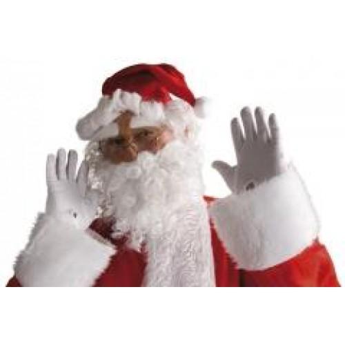 1 Adet Beyaz Noel Baba Sakalı Yıbaşı Parti Malzemesi