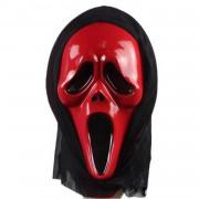 1 Adet Kırmızı Çığlık Maskesi, Korku Şakası Aksesuarı