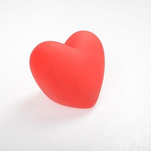 1 Adet Kırmızı Işıklı 11cm Kalp Led Romantik Dekoratif Hediyelik