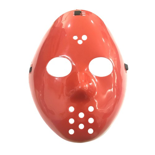 1 Adet Kırmızı Jason Maske, Cadılar Bayramı Kostüm Partisi Maske