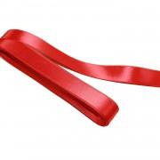 1 Adet Kırmızı Kurdele, 10 m 1 cm Kalınlığında Kurdela